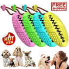 Dog Toothbrush Chew Stick Cleaning Toy Silicone Pet Brushing Oral Dental Care DS