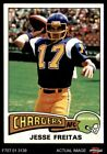 1975 Topps #518 Jesse Freitas Chargers San Diego St / Stanford 7 - NM $1.2 USD on eBay
