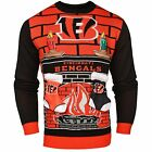 NFL Cincinnati Bengals 3D Mens Ugly Christmas Sweater - Medium $27.99 USD on eBay
