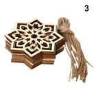 Laser Cut Wooden Eid Mubarak Wood DIY Crafts Wood Ornament Ramadan Decoration