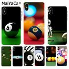 Pool 8 Ball Billiards Snooker Black Case Cover (14 day ship option) iPhone TPU $0.99 USD on eBay