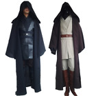 Halloween/Star Wars Cosplay Obi/Wan Kenobi Jedi Knight Adult Costume Cloak/Suits $76.94 USD on eBay