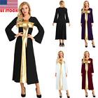 Kyпить Women Praise Dress Liturgical Dance Dress Full Length Lyrical Dress Ladies/Girls на еВаy.соm