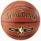 Spalding NBA Gold Indoor / Outdoor Composite Leather Basketball