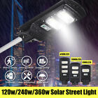 120W/240W/360W Solar LED Street Light Motion Induction Sensor Outdoor Wall Lamp