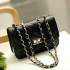 US Stock Women Small Crossbody Quilted Purse Bag Handbag Chain Shoulder Bags