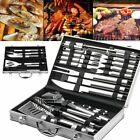 5Pcs/26Pcs Barbecue Tool Set Stainless Steel Fork Brush Spatula BBQ   IE