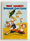 Donald's Golf Game FRIDGE MAGNET movie poster donald duck