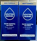 Blue Eye Drops french Gouttes Bleu New formula clear whiter brighter EXP 06/22