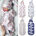 Kyпить US Soft Baby Swaddle Muslin Blanket Newborn Zipper Wrap Swaddling Blanket 2PCS на еВаy.соm