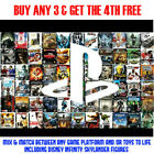 Various Games For (Playstation 3, PS3) Buy 3 Games & Get a 4th Free