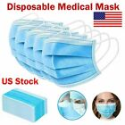 50 Pcs Surgical Dental Disposable 3 Layer Earloop Medical Anti-Dust Face Masks