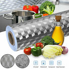 self adhesive waterproof oil proof aluminum foil kitchen cabinet wall sticker us
