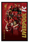 """FRAMED Liverpool FC Players 2019 - 2020 Season Poster Official Licensed 26x38"""""""