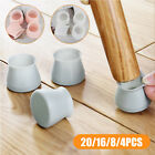 4 8 16pcs silicone furniture leg protection cover table feet pad floor protector