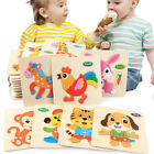 Kyпить Wooden Puzzle Educational Developmental Training Animals Jigsaw Toy Baby Kids на еВаy.соm