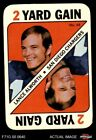 1971 Topps Game #48 Lance Alworth Chargers 4 - VG/EX $2.2 USD on eBay