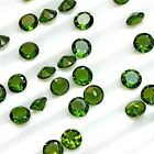 Wholesale Lot 6mm to 8mm Round Cut Natural Chrome Diopside Loose Calibrated Gems