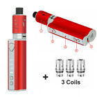 80W Electronic e-Cigarette 2000mAh Battery Vape Starter Kit Shisha Smoking Coils