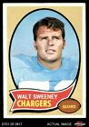 1970 Topps #173 Walt Sweeney Chargers Syracuse 4 - VG/EX $0.99 USD on eBay
