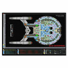 280549 Star Trek Starship Enterprise Spacecraft WALL PRINT POSTER AU on eBay