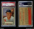 1952 Topps #404 Dick Brodowski Red Sox PSA 1 - POORBaseball Cards - 213