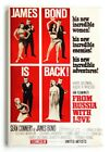 """From Russia With Love FRIDGE MAGNET movie poster """"style A"""" james bond $7.95 USD on eBay"""