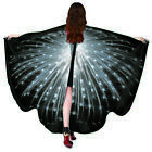 Butterfly Wings Shawl Fairy Pixie Scarf Bikini Cover Ups Festival Costume UK