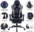 Von Racer Massage Gaming Chair Ergonomic Computer Desk Chair Racing Office Chair