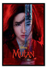 Mulan Movie Be Legendary Poster FRAMED CORK PIN BOARD With Pins | UK Seller