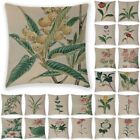 """18"""" Flower Printing Pillow Case Cover Sofa Couch Cushion Covers Home Car Decor"""