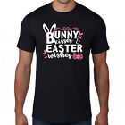 Happy Easter Day Funny T Shirt Bunny Kisses And Easter Wishes Adult & Kids Top