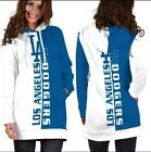 Los Angeles Dodgers Womens Hoodie Dress Medium to 3XL on Ebay