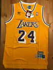 NEW Kobe Bryant 24 HWC L.A. Los Angeles Lakers MEN'S Stitched Yellow/Gold Jersey
