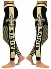 New Orleans Saints Small to 2X-Large Women's Leggings New $21.95 USD on eBay