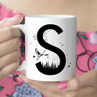 S Initial Monogram Coffee Mug More Letters Available Microwave And Dishwasher photo