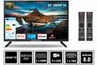 Fernseher LED TV 24 32 40 50 Zoll Full HD DVB-T2/S2 Smart-Option Elements; EEK A