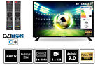 Fernseher LED TV 24 32 40 50 Zoll Full HD DVB-T2/S2 Smart-Option Elements; EEK A+