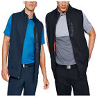 Under Armour Mens Storm ColdGear Infrared Full Zip Vest Bodywarmer Gilet UA Golf