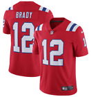 Tom Brady #12 New England Patriots Men's N Red Throwback Jersey $60.0 USD on eBay