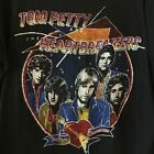 Vintage Tom Petty and the Heartbreakers concert Tour Unisex Black T-Shirt image