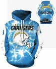 Los Angeles Chargers Unisex Team Hoodie Med - 3XL $24.95 USD on eBay