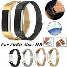 Milanese Magnetic Loop Stainless Steel Wrist Band Strap For Fitbit Alta/Alta HR image