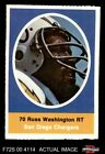 1972 Sunoco Stamps Russ Washington Chargers Mizzou 6 - EX/MT $1.05 USD on eBay