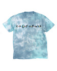 Cali Friends Tie Dyed Tee - ADULT - WOMEN - MEN - CALIFORNIA - TYE DYE - T-SHIRT