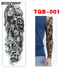 Temporary Tattoo Sticker Tribal Totem Band Water Transfer Tatto Personality $8.8 USD on eBay