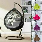 Rattan Swing Patio Garden Weave Hanging Egg Chair Cushion Cover Outdoor Detached