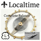 Balance Staff Chrono Watch Service Part LANDERON Cal. 39 47 48 51 52 149 151 etc