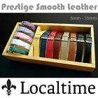 Ladies Lady Prestige Classic Semi Shine Calf Leather Watch Straps In 13 Colours