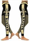 New Orleans Saints Small to 2X-Large Women's Leggings New $22.49 USD on eBay